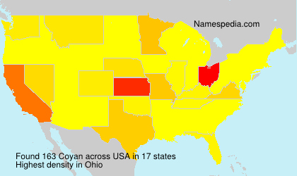 Surname Coyan in USA