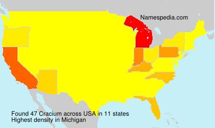 Cracium - USA