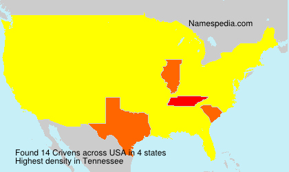 Surname Crivens in USA