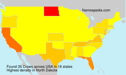 Surname Crows in USA
