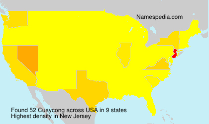Surname Cuaycong in USA