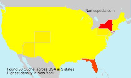 Surname Cuchel in USA