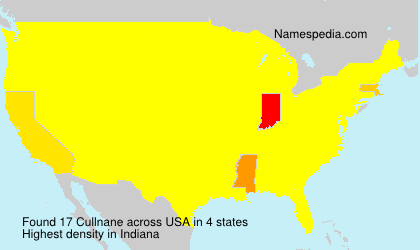 Surname Cullnane in USA