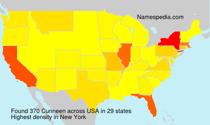 Surname Cunneen in USA