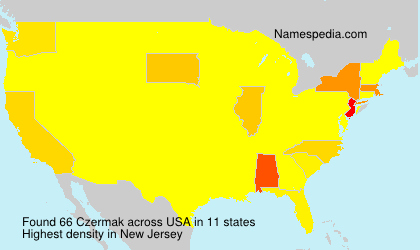 Surname Czermak in USA