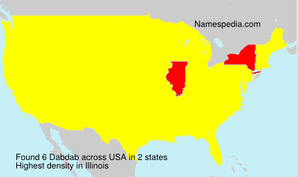 Surname Dabdab in USA