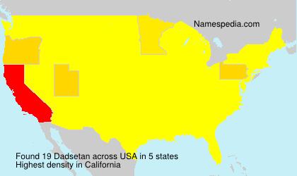 Dadsetan - USA
