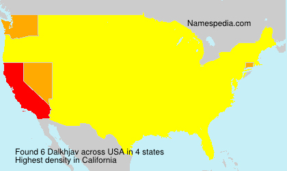 Surname Dalkhjav in USA