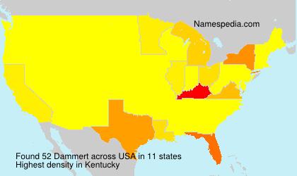 Surname Dammert in USA