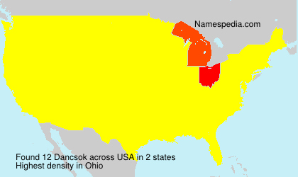 Surname Dancsok in USA