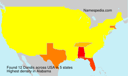 Surname Dandis in USA