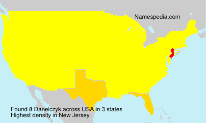 Surname Danelczyk in USA