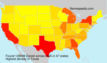 Surname Daniel in USA