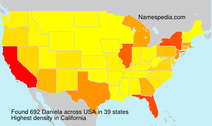 Surname Daniela in USA