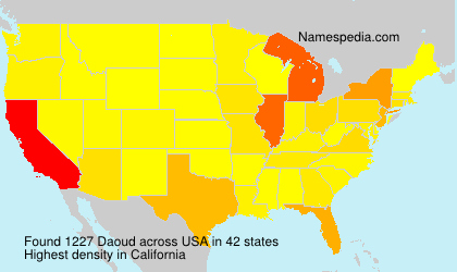 Surname Daoud in USA