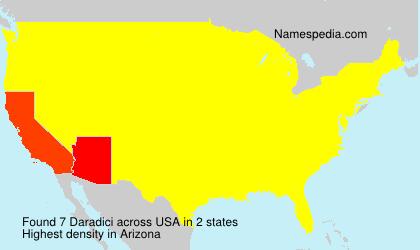 Surname Daradici in USA