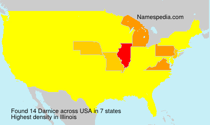 Surname Darnice in USA