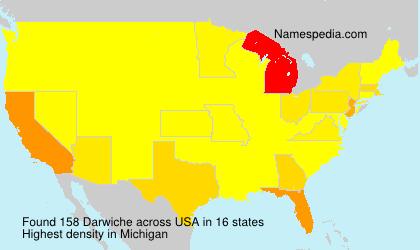 Surname Darwiche in USA