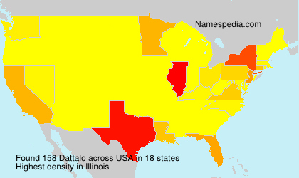Surname Dattalo in USA