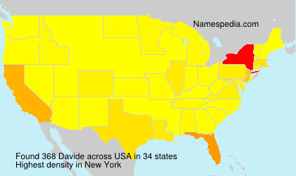 Surname Davide in USA