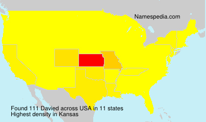 Surname Davied in USA