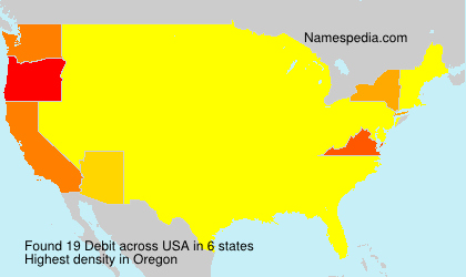 Surname Debit in USA