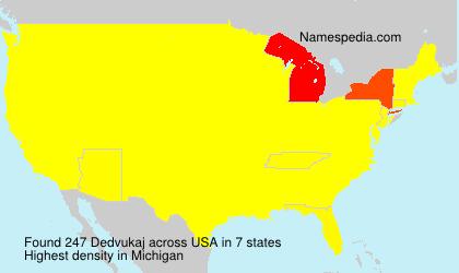 Surname Dedvukaj in USA