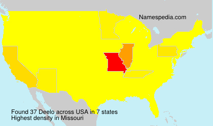 Surname Deelo in USA