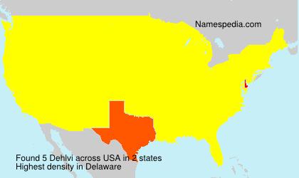 Surname Dehlvi in USA
