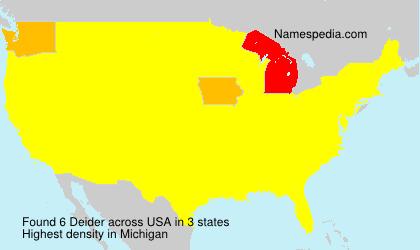 Deider - USA
