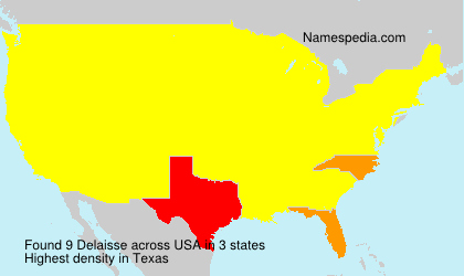 Surname Delaisse in USA