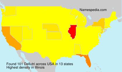 Surname Dellutri in USA
