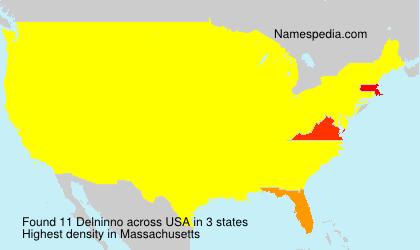 Surname Delninno in USA