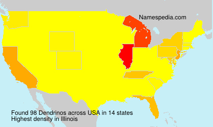 Surname Dendrinos in USA