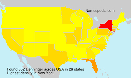 Surname Denninger in USA