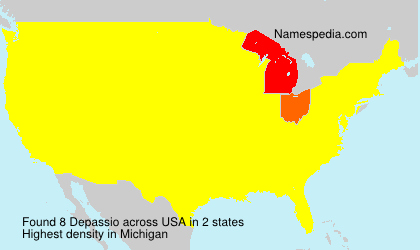Surname Depassio in USA
