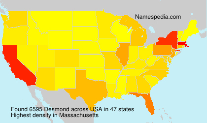 Surname Desmond in USA