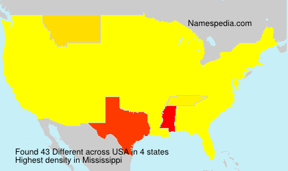 Surname Different in USA