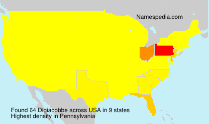 Surname Digiacobbe in USA