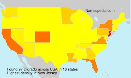 Surname Digrado in USA