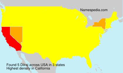 Surname Dilraj in USA