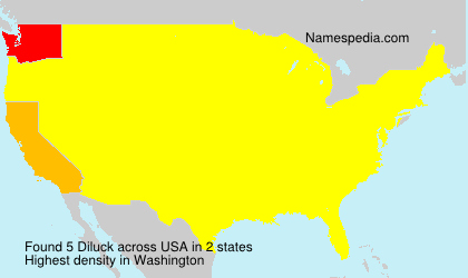 Surname Diluck in USA
