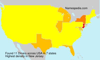 Surname Dinara in USA
