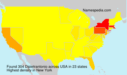 Surname Dipietrantonio in USA