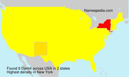 Surname Djemil in USA