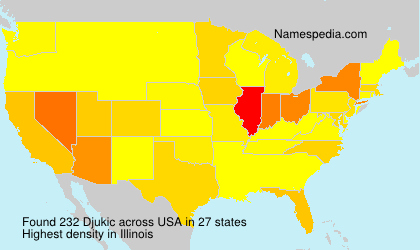 Surname Djukic in USA