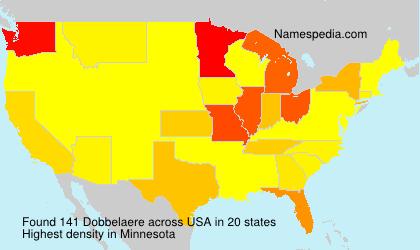 Surname Dobbelaere in USA