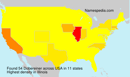 Surname Dobereiner in USA