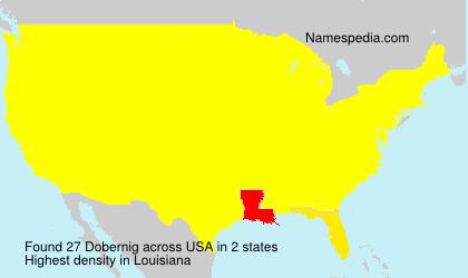Surname Dobernig in USA