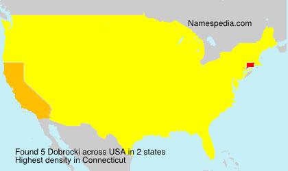 Surname Dobrocki in USA
